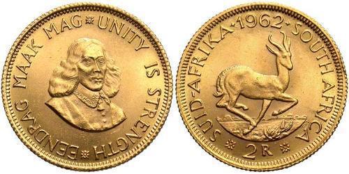2 Rand Südafrika Gold