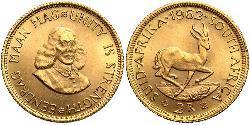 2 Rand Sudafrica Oro