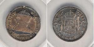 2 Real 新西班牙總督轄區 (1535 - 1821) 銀 卡洛斯三世 (西班牙) (1716 -1788)