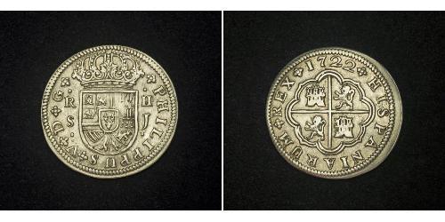 2 Real Imperio español (1700 - 1808) Plata