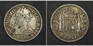 2 Real Virreinato de Nueva España (1519 - 1821) Plata Carlos III de España (1716 -1788)