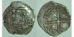 2 Real Bolivien / Vizekönigreich Peru (1542 - 1824) Silber Philipp III. von Spanien (1578-1621)