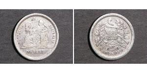 2 Real Guatemala Silber
