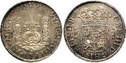 2 Real Peru Silber Karl III. von Spanien (1716 -1788)