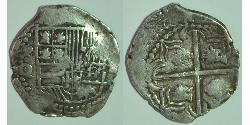 2 Real Bolivia / Viceroyalty of Peru (1542 - 1824) Silver Philip III of Spain (1578-1621)