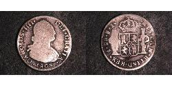 2 Real Chile Silver