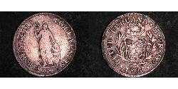 2 Real Peru Silver