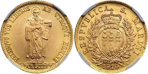 2 Scudo San Marino Gold