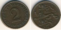 2 Sent Estonia (1991 - ) Bronze