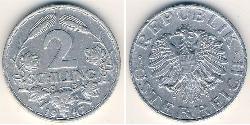 2 Shilling First Austrian Republic (1918-1934) Aluminium