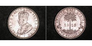 2 Shilling British West Africa (1780 - 1960) Argent George V (1865-1936)