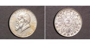 2 Shilling Prima repubblica austriaca (1918-1934) Argento