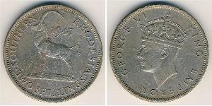2 Shilling Southern Rhodesia (1923-1980) Copper/Nickel George VI (1895-1952)
