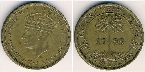 2 Shilling British West Africa (1780 - 1960) Nickel