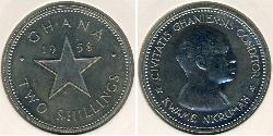 2 Shilling Ghana Nickel