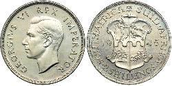 2 Shilling Südafrika Silber Georg VI (1895-1952)