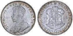 2 Shilling Südafrika Silber George V (1865-1936)
