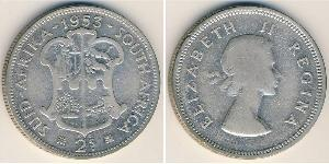 2 Shilling South Africa Silver
