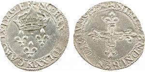 2 Sol Kingdom of France (843-1791) Silver