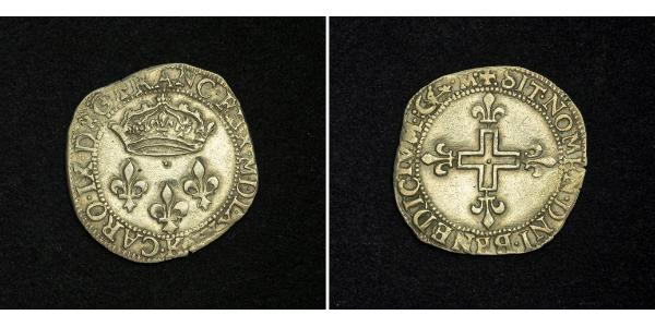 2 Sol Kingdom of France (843-1791) Silver