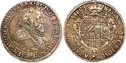 2 Thaler 哈布斯堡君主國 銀 鲁道夫二世 (神圣罗马帝国) (1552 - 1612)