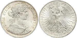 2 Thaler 联邦州 (德国) 銀