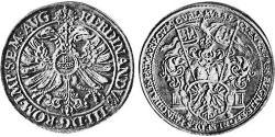 2 Thaler Free Imperial City of Aachen (1306 - 1801) 銀