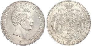 2 Thaler null 銀 William, Duke of Brunswick