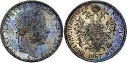 2 Thaler Impero austriaco (1804-1867) Argento Franz Joseph I (1830 - 1916)