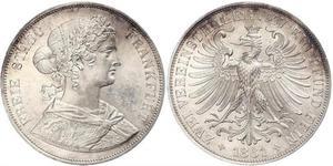 2 Thaler Stati federali della Germania Argento
