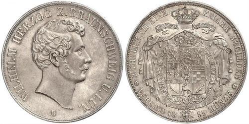 2 Thaler Alemania Plata