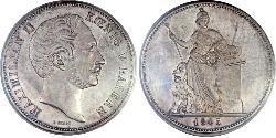 2 Thaler Königreich Bayern (1806 - 1918) Silber Maximilian II. Joseph (Bayern)(1811 - 1864)