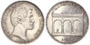 2 Thaler Königreich Bayern (1806 - 1918) Silber Ludwig I. (Bayern)(1786 – 1868)