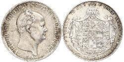 2 Thaler Königreich Preußen (1701-1918) Silber Friedrich Wilhelm IV. (1795 - 1861)