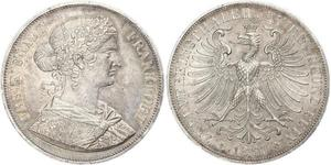 2 Thaler States of Germany Silber
