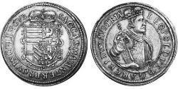 2 Thaler Alsace Silver Leopold V, Archduke of Austria (1586 – 1632)