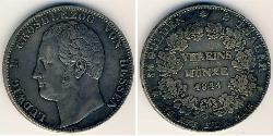2 Thaler Landgraviate of Hesse-Kassel (1567 - 1806) Silver