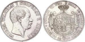 2 Thaler / 3½ Gulden Grand-duché de Hesse (1806 - 1918) Argent Frédéric-Guillaume Ier de Hesse (1802 - 1875)