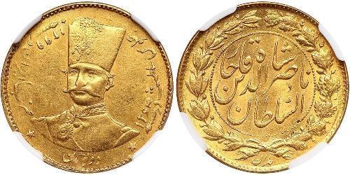 2 Toman Irán Oro