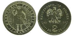 2 Zloty Third Polish Republic (1991 - ) Latón