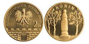 2 Zloty Third Polish Republic (1991 - ) Tin/Aluminium/Copper/Zinc
