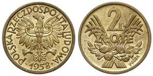 2 Zloty Poland