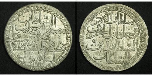 2 Zolota 奥斯曼帝国 (1299 - 1923) 銀 阿卜杜勒-哈米德一世 (1725 - 1789)