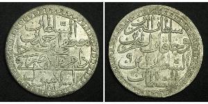 2 Zolota Empire ottoman (1299-1923) Argent Abdülhamid Ier (1774 - 1789)