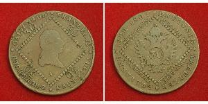 30 Крейцер Австрийская империя (1804-1867) Медь Francis II, Holy Roman Emperor (1768 - 1835)