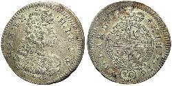 30 Крейцер Баварія (курфюрство) (1623 - 1806) Срібло