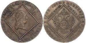 30 Kreuzer Kaisertum Österreich (1804-1867) Kupfer Francis II, Holy Roman Emperor (1768 - 1835)