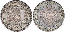 30 Kreuzer Augsburg (1276 - 1803) Silber Maximilian II. (HRR)(1527- 1576)