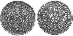 30 Kreuzer Geschichte Bayerns (907 - 1623) Silber Albrecht V. (Bayern)(1528 – 1579)