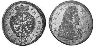 30 Kreuzer Electorate of Bavaria (1623 - 1806) Silver
